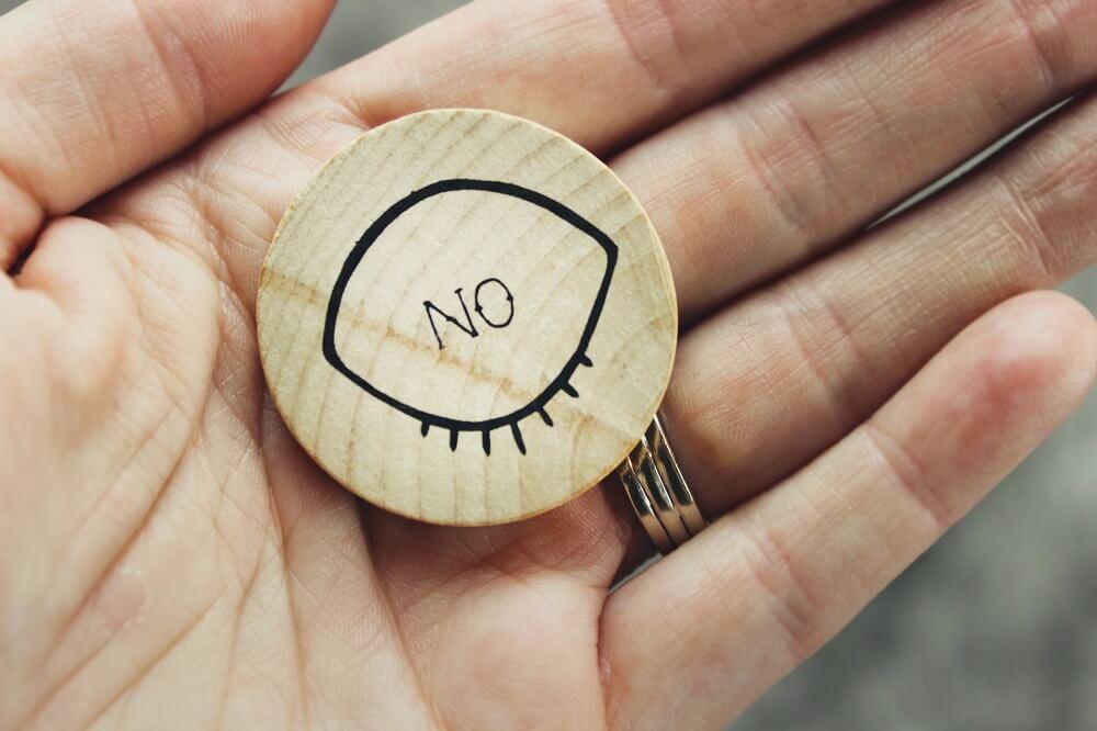"""Wie du """"Nein""""-Sagen lernst und warum du das überhaupt solltest"""